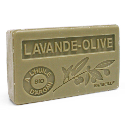 Lavender & Olive Soap with Organic Argan Oil 100g