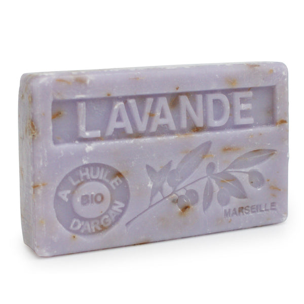 Lavender Flower Soap with Organic Argan Oil