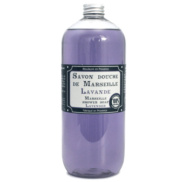 1 ltr Refill Lavender Marseille natural body and hand wash