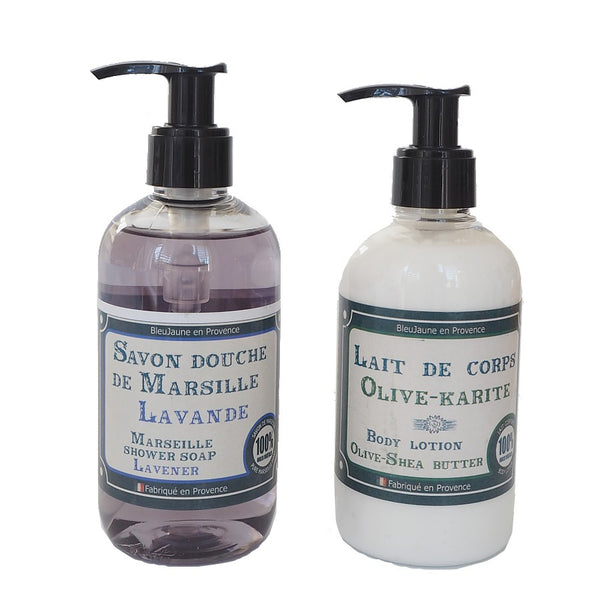 Lavender Marseille Soap and Body Moisturiser Multibuy