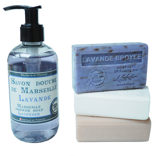 Lavender Frenchsoaps Gift Box
