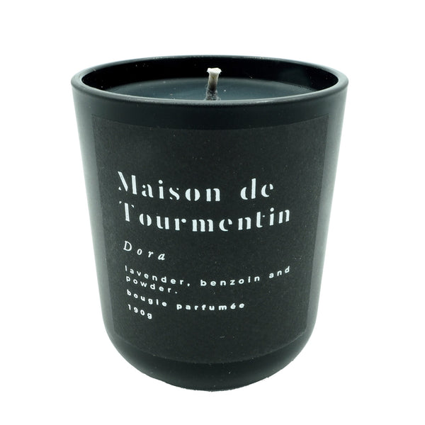 DORA Natural Wax Candle by Maison de Tourmentin