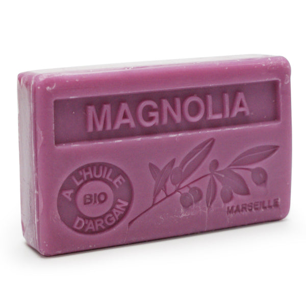 Magnolia French Soap with Organic Argan Oil