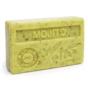 Mojito French Soap with Organic Argan Oil