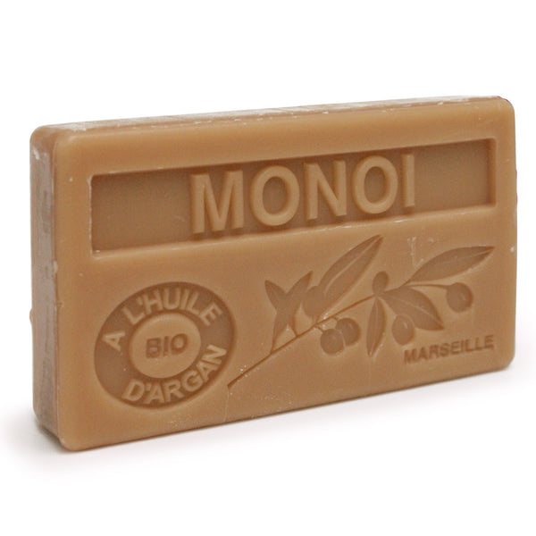 Monoi Scented Soap with Organic Argan Oil