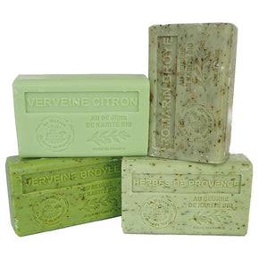 Herbs of Provence Multibuy - 4 x Organic Shea Butter French Soaps
