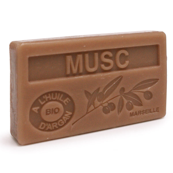 Musk Scented Soap with Organic Argan Oil