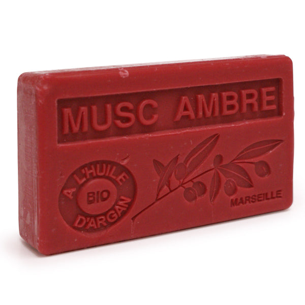 Musc Ambre Soap with Organic Argan Oil