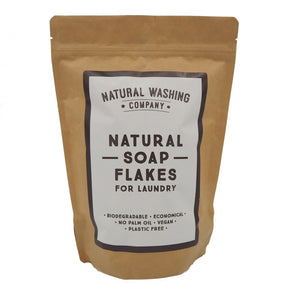 Natural Soap Flakes from the Natural Washing Company - BIG 500g pouch