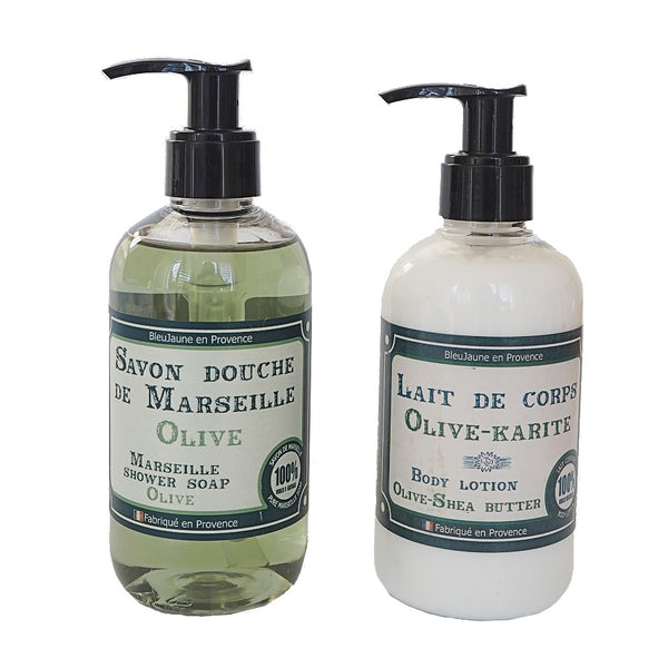 Olive Marseille Soap and Body Moisturiser Multibuy