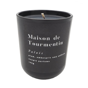 Palais Natural Black Wax Candle by Maison de Tourmentin