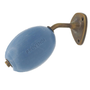 NEW PROVENDI Lavender Wall Rotating Soap - Brass finish