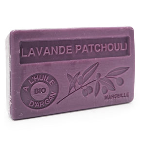 Lavender and Patchouli Soap with Organic Argan Oil