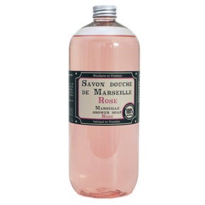 1 ltr Refill Rose Marseille natural body and hand wash