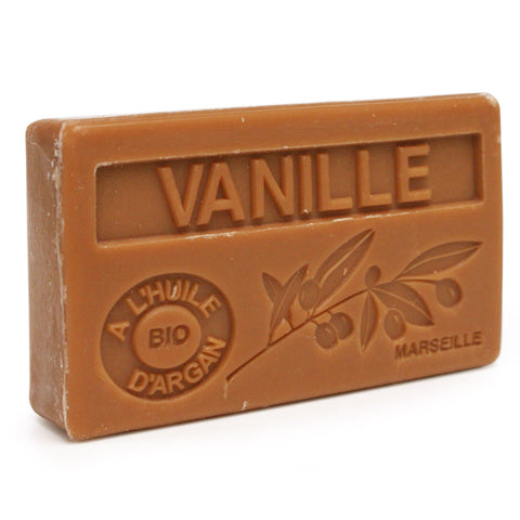 Vanilla Scented Soap with Organic Argan Oil