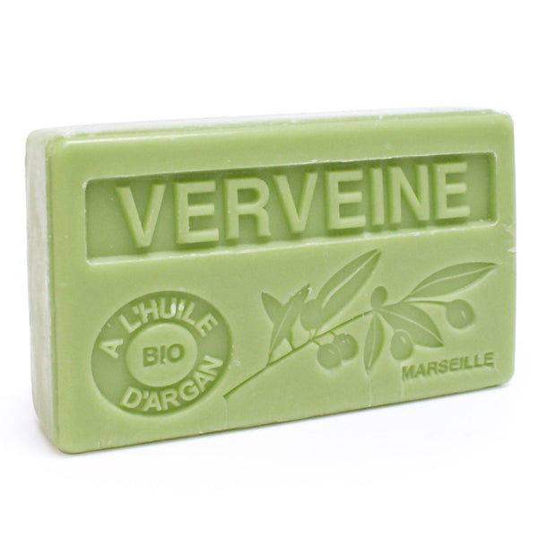Verbena Scented Soap with Organic Argan Oil