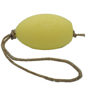 Lemon French Soap on a Rope in a Gift Bag