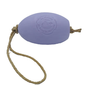 Lavender French Soap on a Rope in a Gift Bag