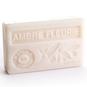 Amber Flower Soap with Organic Argan Oil