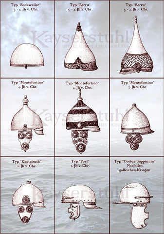 Celtic Helmets