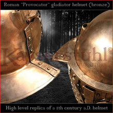 Load image into Gallery viewer, High level replica - Provocator helmet (bronze)
