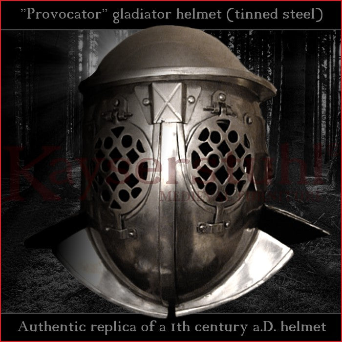 Authentic replica - Provocator helmet (tinned steel)