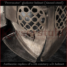 Load image into Gallery viewer, Authentic replica - Provocator helmet (tinned steel)