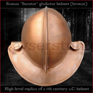 High level replica - Secutor helmet (bronze)