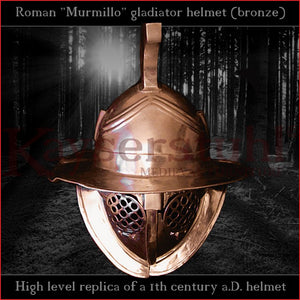 High level replica - Murmillo helmet (bronze)