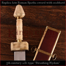 "Load image into Gallery viewer, Authentic replica - Spatha ""Straubing-Nydam"" (Late Roman sword)"