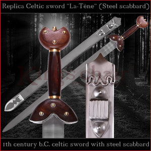 "Authentic replica Celtic ""La-Tène"" sword (spring steel)"