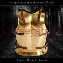 Load image into Gallery viewer, Replica - Antique muscle armor (brass)