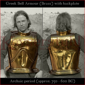 Greek bell armor (brass)