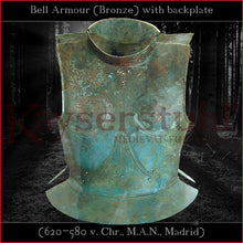 Load image into Gallery viewer, Greek bell armor (brass)
