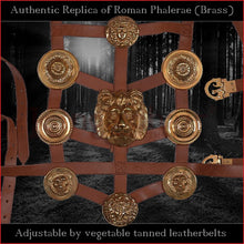 Load image into Gallery viewer, Authentic Replica - Roman Phalerae (brass)