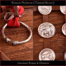 Load image into Gallery viewer, Authentic Replica - Roman Phalerae (tinned brass)