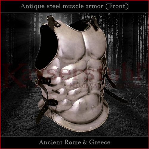 Antique muscle armor (mild steel)