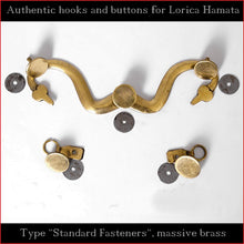 "Load image into Gallery viewer, Authentic Replica - Hooks & Buttons ""Standard"" for Lorica Hamata"