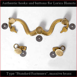 "Authentic Replica - Hooks & Buttons ""Standard"" for Lorica Hamata"
