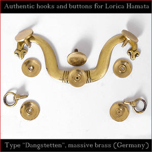 "Authentic Replica - Hooks & Buttons ""Dangstetten"" for Lorica Hamata"