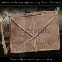 "Load image into Gallery viewer, Authentic replica - Roman legionary bag ""Pera"" (leather)"