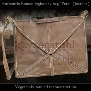 "Authentic replica - Roman legionary bag ""Pera"" (leather)"