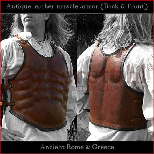 Leather muscle armor