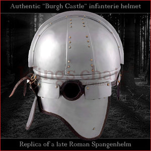 "Authentic replica ""Burgh Castle"" helmet (steel)"