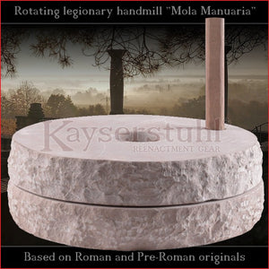 "Authentic replica - Roman handmill ""Mola Manuaria"" (stone)"