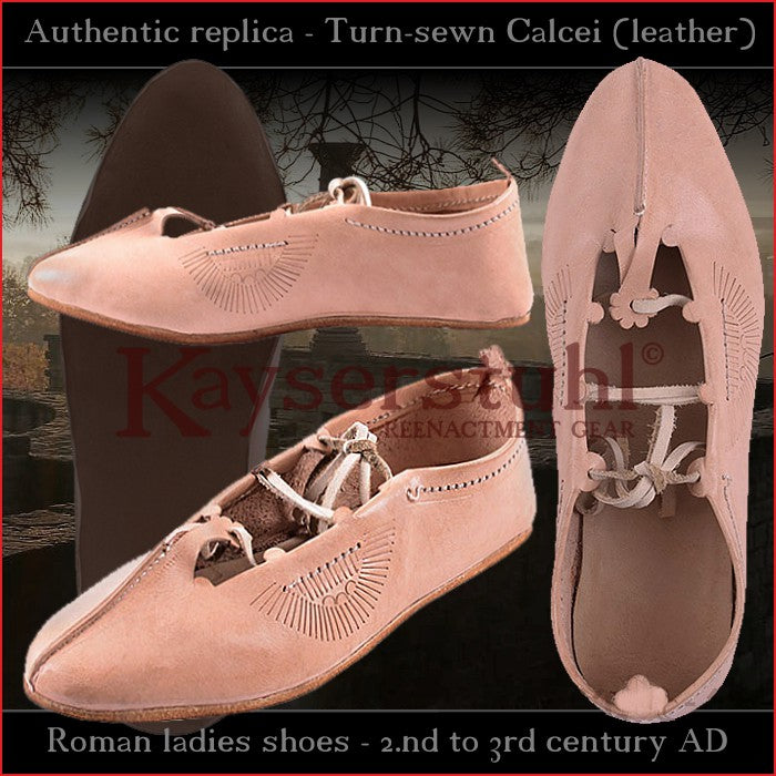 Authentic shoes - Late-Roman turn-sewn Calcei