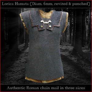 Authentic Replica - Lorica Hamata (Riveted Roman chain mail)