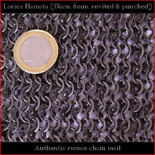 Load image into Gallery viewer, Authentic Replica - Lorica Hamata (Riveted Roman chain mail)