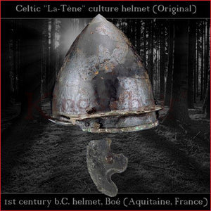 "Authentic replica - Celtic ""La-Téne"" culture helmet (steel)"