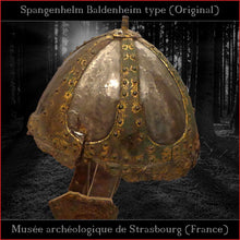 "Load image into Gallery viewer, Authentic replica ""Burgh Castle"" helmet (steel)"
